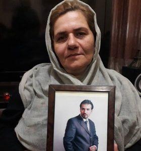 فرنگیس مظلومی مادر سهیل عربی