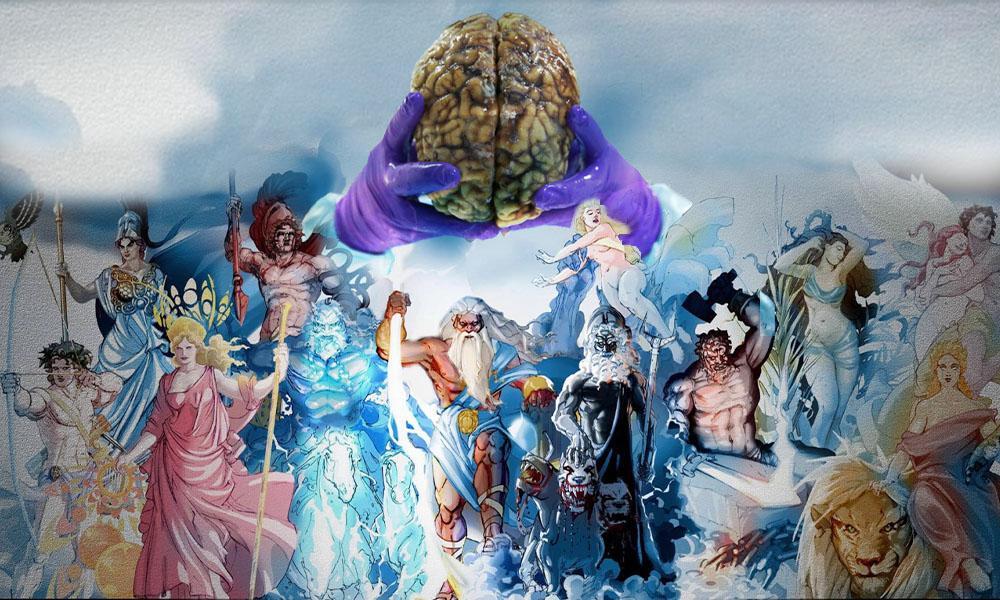 خدایان محصول زیستی مغز انسان