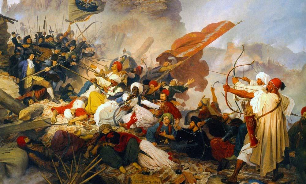 جنگ پیروان ادیان اسلام و مسیحیت