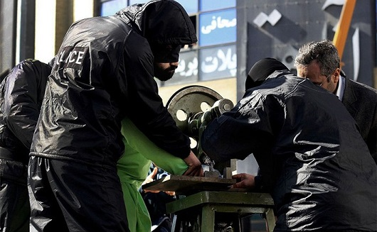 قطع دست در جمهوری اسلامی