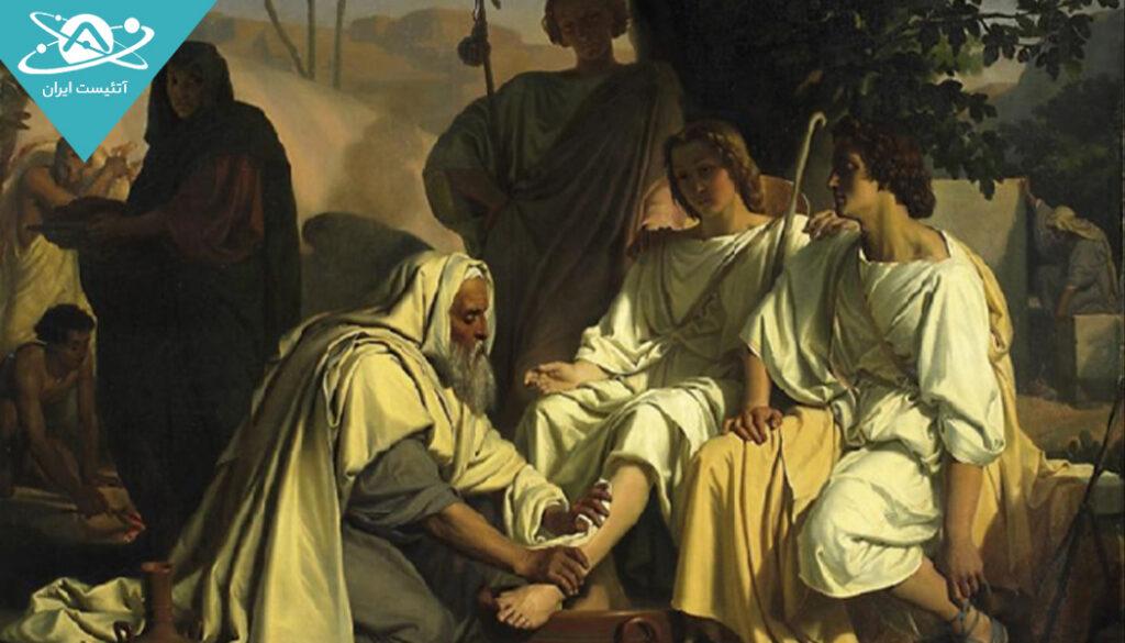 دیدار خدا با ابراهیم در کتاب تورات